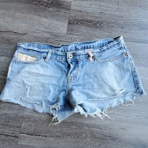 Lucky Brand Dream Short Cut off Jean Shorts